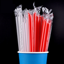100pcs/Lot  Wholesale Pearl Bubble Tea Milk Plastic Straws Party Smoothies Jumbo Pastel Drinking Accessories