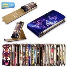 For Philips Xenium V526/S396/S316 Universal High Quality Printed Flip PU Leather Cell Phones Case Cover Middle Size(China)
