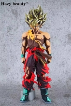 Hazy beauty Dragon ball Z DBZ SMSP Goku PVC Figure Juguetes Brinquedos Toys New Year Edition(China)