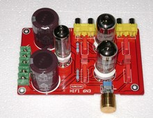 YJ dual 150VAC-0-150VAC + 6.3VAC 6N3 tube preamp for amplifier(China)