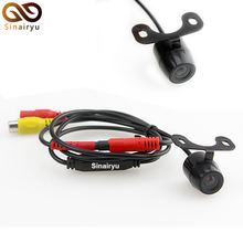 Sinairyu Free Shipping,Auto Parking Assistance Resolution: 480 TV lines Reverse Backup Rearview Camera CCD Car Rear View Camera(China)