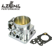 LZONE RACING - 75MM BILLET CNC THROTTLE BODY FOR 86-93 FORD MUSTANG GT COBRA LX 5.0 JR6958S(China)