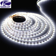 SMD3528 led strip 5M/roll 60led/M White Blue led strips RGB DC12V safe led bar light+24Key RGB IR remote controller RoHS CE