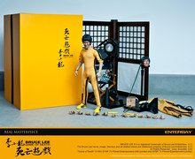 "EB ENTERBAY RM-1030 1/6 Game of Death Bruce Lee Director Version Edition 12"" Collectible action Figure in stock(China)"