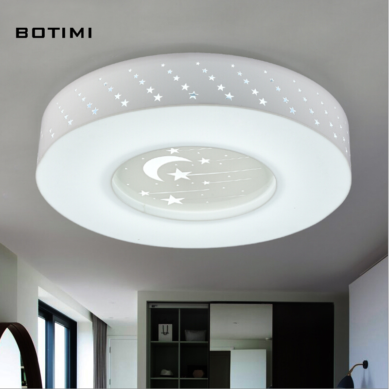 BOTIMI cute night light lampada led round acrylic LED ceiling light for bedroom dinning room balcony corridor<br><br>Aliexpress