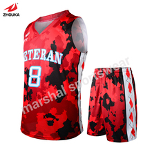 OEM your own basketball team jersey hot sale full sublimation any color name number custom athletic jerseys wholesale price(China)
