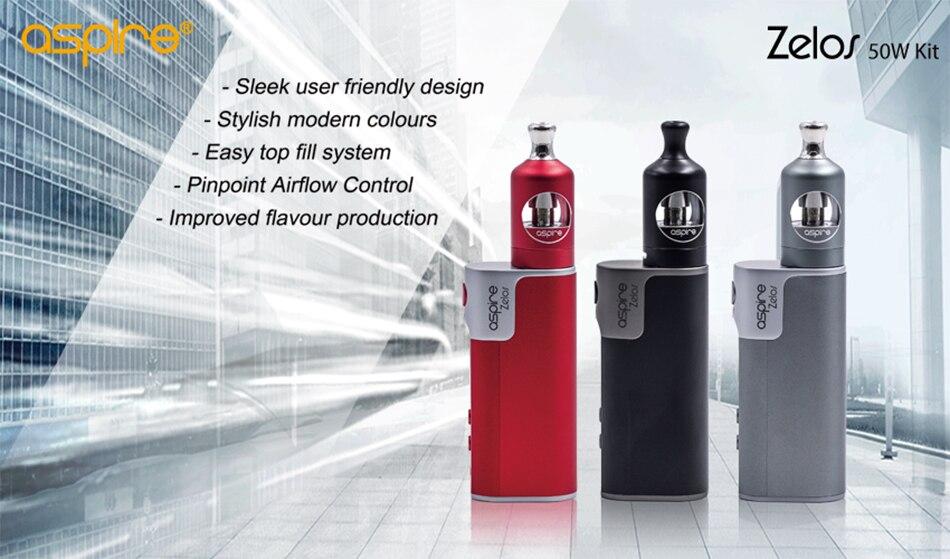 zelos 50w kit e-cigarette