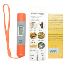 cooking thermometer digital food meat thermometer hanheld household home IR Infrared thermometer DT8230(China)