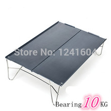 New Foldable Aluminum Table Silver Ultralight 378g Outdoor Camping Picnic Hiking Travel Leisure Traveling  Fire Maple FMB-913