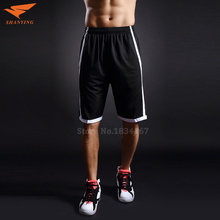 Basketball Shorts Men Running Shorts Summer Sports Shorts For Big Men Breathable Polyester Shorts Plus Size XL-5XL 2017 New