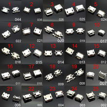 25 models Micro usb connector Very common charging port for ZTE Huawei and other brand mobile,tablet GPS