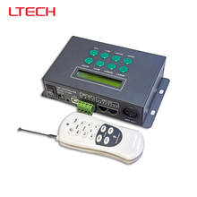 LT-800 V5.0 DMX Led Driver DMX master Controller Dimmer RF Remote Wireless RGB Led Strip use 3CH Output(China)