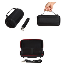 Portable Carry Travel Protective Speaker Cover Case Pouch Bag For JBL Charge 3 Charge3 Bluetooth Speaker With Belt(no column)