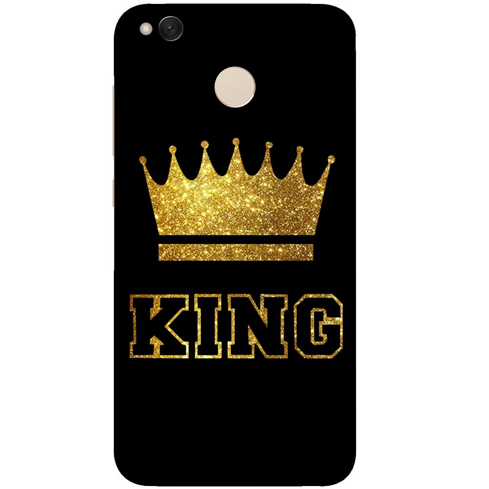 King Queen Case For xiaomi Redmi 3 3S 4A 4X 4 4S MiA1 Mi5X Note 3 5A Note 4 Note 4X
