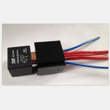 High Quality Automobile relay + Relay Sockets with 2.5 square wire 5 pin JD1914 DC 12V 80A Automotive Lighting Controller