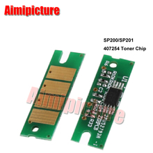 407254 Toner Cartridge Chip SP-201 SP201 SP200 SP-200 SP202 SP-202 SP210 SP-210 2.6K For Ricoh Chip 50pcs/lot free shipping