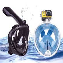 Full Face Diving Mask Scuba Snorkel Anti Fog Snorkeling Set Underwater Swimming Scuba Mergulho Training Accessories