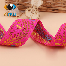 Manufacturers selling 4.3 wide long folk costume embroidery lace ribbon minority clothing accessories