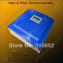 240V Hybrid Wind Solar Charge Controller 5KW