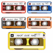 For iPhone 6S SE 6Plus 7 Plus 7 8 8Plus X Samsung Retro Cassette Tape 80 Rock And Roll Mix Soft Silicon Clear Printed Phone Case(China)