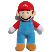 25cm 10inch Super Mario Bros Soft Plush MARIO LUIGI MARIO PLUSH DOLL Bros Bowser Koopa Yoshi For Children Kids Birthday Gifts(China)