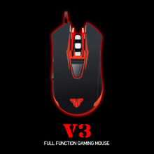 New Promotion Plug Play 2400DPI LED Optical 6D USB 1.8 M Wired Gaming Game Mouse Pro Gamer Computer Mice For PC High performance