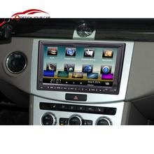 Universal Double 2 Din Car DVD player GPS Navigation in Dash Car Autoradio Video/Mutimedia Player 7'' Car PC Stereo audio player