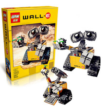 IN STOCK 687pcs free shipping  New Lepin 16003 Idea Robot WALL E Building Set Kits Bricks Blocks Compatible with 21303