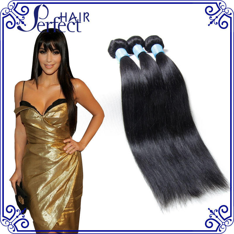 Hot sale brazilian virgin hair straight unprocessed 6A virgin brazilian straight hair 3pcs lot 100% human hair weaving<br><br>Aliexpress