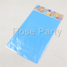 pink/blue Plastic Tablecloth cover birthday party tablecover decoration tableware party supplies for boy girl kids favors