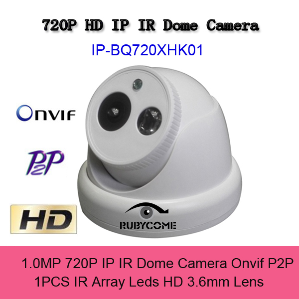 CCTV IP Dome Camera 720P Security HD 1.0 Megapixel Network Indoor Video Camera IR Array Leds H.264 Onvif P2P Cloud Best Price<br><br>Aliexpress