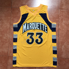2017 New Jimmy Butler #33 Trrowback College Marquette Golden Eagles Basketball Jersey All Size Stitched(China)