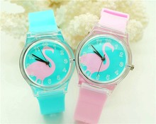 Women Willis Fashionable Brand Mini Watch swan Design Water Resistant Analog Ultrathin Silicone Band Wrist Watch 1150