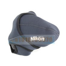 Size -M Neoprene Camera Cover Case Bag Pouch Protector for Nik&n D40 D40X D60 D80 D90 D5000 D300 D700D SLR Free shipping