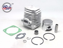 44mm 10mm 12mm Cylinder Piston Kit for 49cc 2 Stroke Engine Mini Moto Dirt Pocket Bike ATV Quad Minimoto Dirt bike