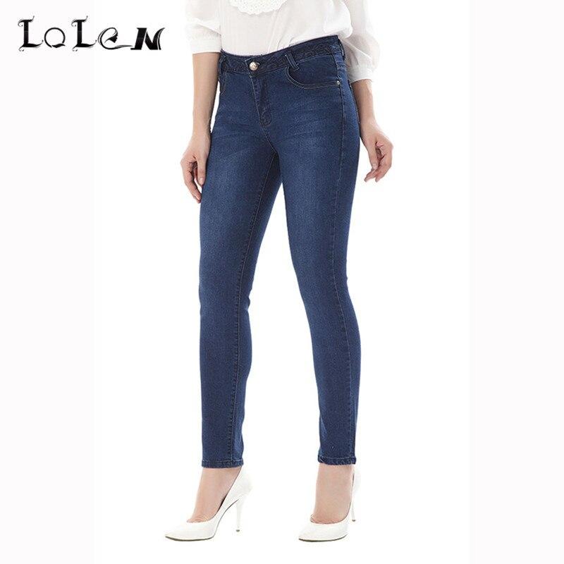 LOLEN Fashion Slim Stretch Women s Jeans Pencil Skinny PantsОдежда и ак�е��уары<br><br><br>Aliexpress