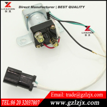 High quality excavator Replacement Spare parts for Komatsu PC200-7 excavator Relay Battery 24V