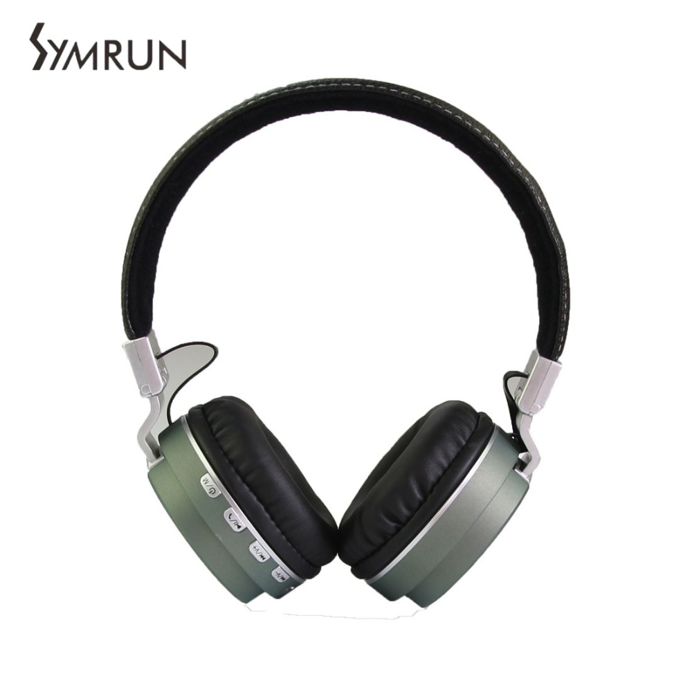Symrun Best Bluetooth Headset Head Phones Rotating Folding Wireless Stereo Headphone Headphones Gaming<br><br>Aliexpress