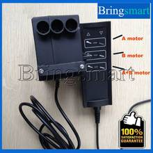 3 Groups Control Model AC 220V to 24v For 2 pieces 24v Linear Actuator Tubular Motor Power Supply With Cable Controller