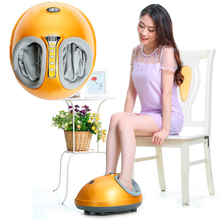 New 360 Degree All-around Health Care Reflexology Far Infrared Magnetic Electric Foot Massager Roller Machine As Seen On Tv 2015