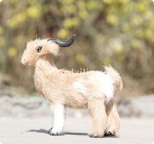 Zilin Manufacturer / lovely mini goat toy/ goat decor, ideal as children gift or home decoration, 14*4*14 cm