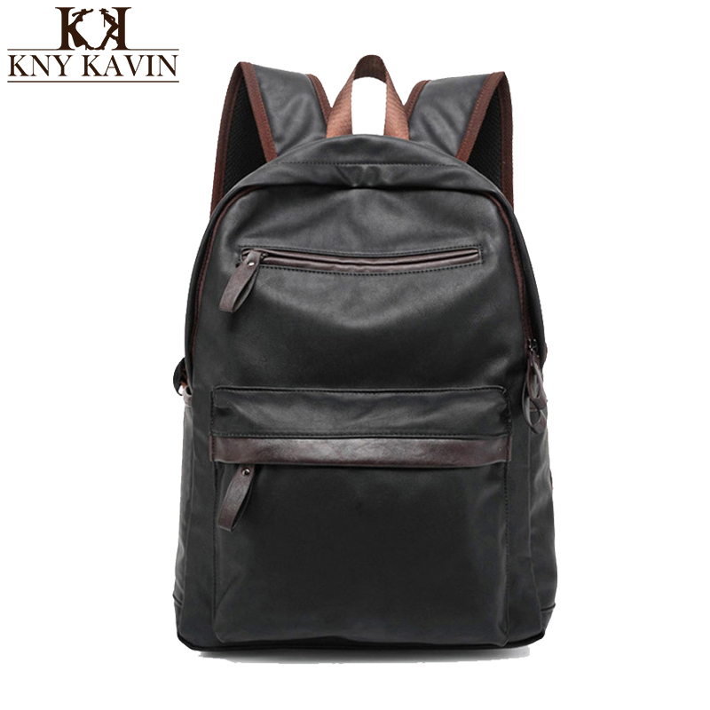 2017 New Arrival Oil Wax PU Leather Backpack For Men Western College Style Bags Mens Casual Backpack &amp; Travel Bags For women<br><br>Aliexpress
