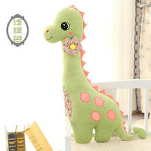 new lovely light green dinosaur toy plush dinosaur pillow doll creative doll about 80cm
