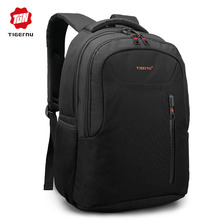 Tigernu Brand Men Laptop Backpack Fashion Trend Soild School Backpack for teenagers Female mochila Anti-theft military backpack