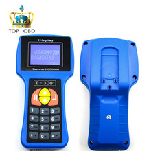 Professional Auto Key Programmer T300 Newest V16.8 T 300 T-CODE English or Spanish Blue/Black Cars T-300 Auto Transponder(China)