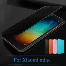 Original Mofi For Xiaomi mi4c / mi 4c mi4i Case Fashion Flip Leather Cell Phone Cover For Xiaomi mi4c Stand Case(China)