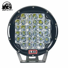 tractor led work light 12v 96w 9 inch round led projector headlight Offroad Driving Fog Light Flood Lamp For 4WD SUV ATV 4X4(China)