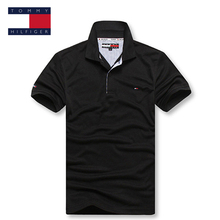 TOMMY HILFIGER relaxation classic pure color polo shirt for man