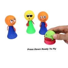 Mini Funny Kids Jump Bounce Elf Colorful Fly Man Children Educative Toy Gift