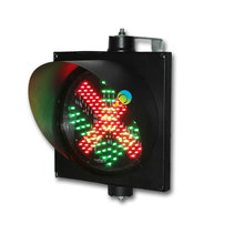 High quality `toll station 300mm stop go signal light red green LED traffic light for sale(China)